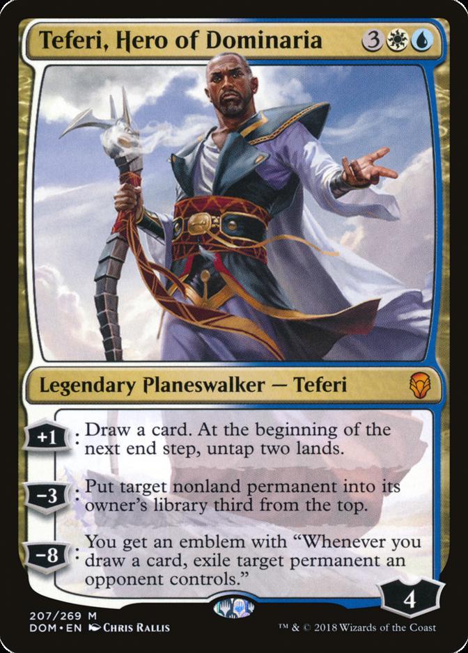 Teferi-Hero-of-Dominaria-DOM-672