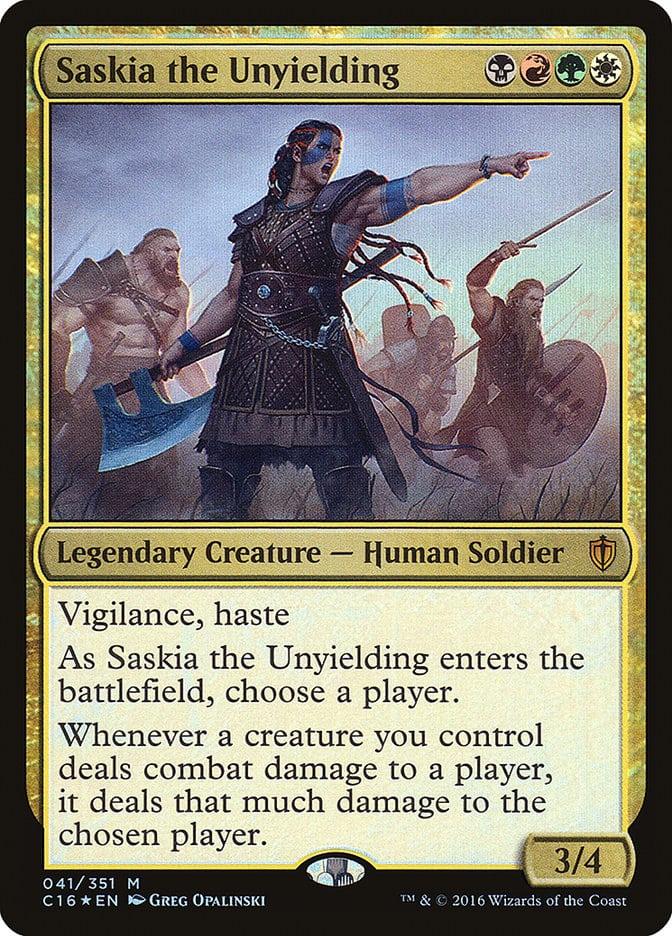best-aggro-mtg-commanders-saskia