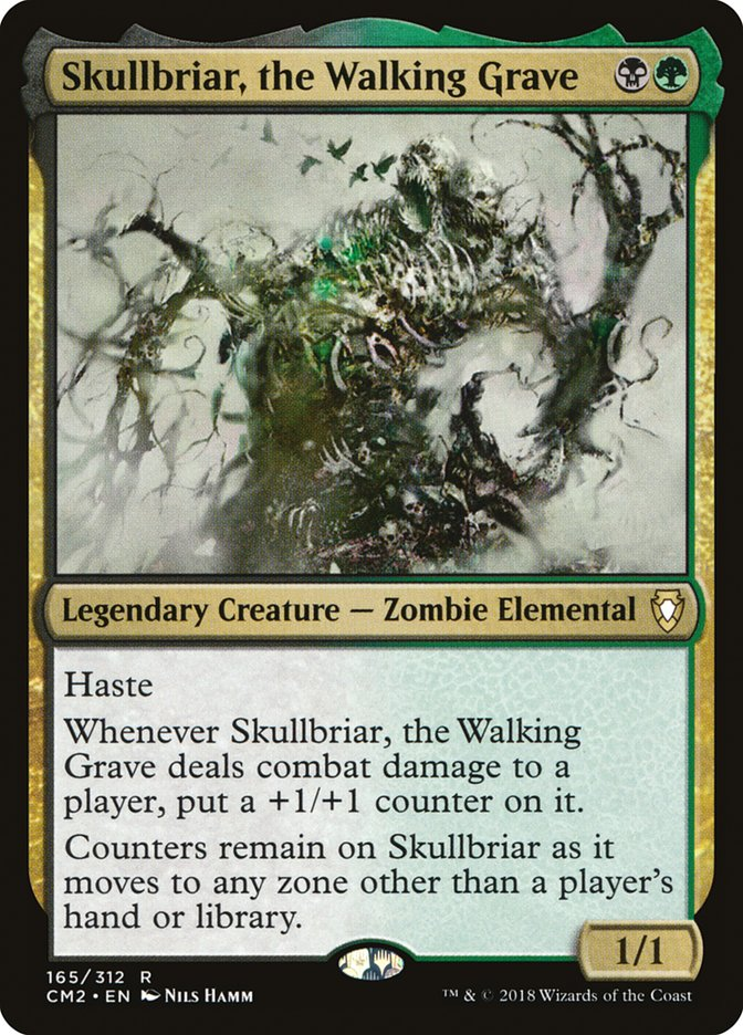 best-aggro-mtg-commanders-skullbriar