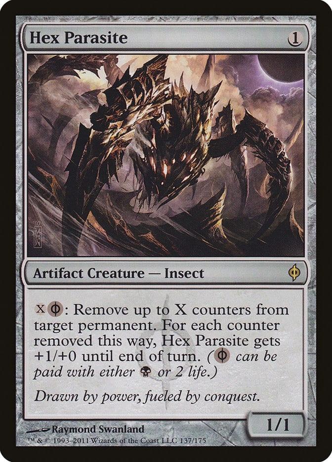 best-artifact-creatures-commander-hex-parasite