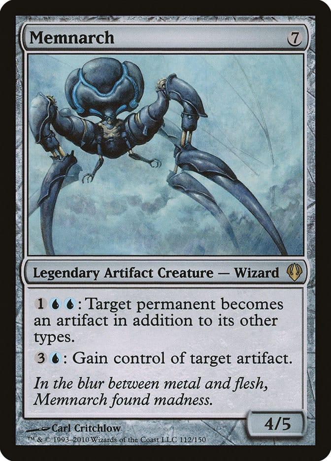 best-artifact-creatures-commander-memnarch
