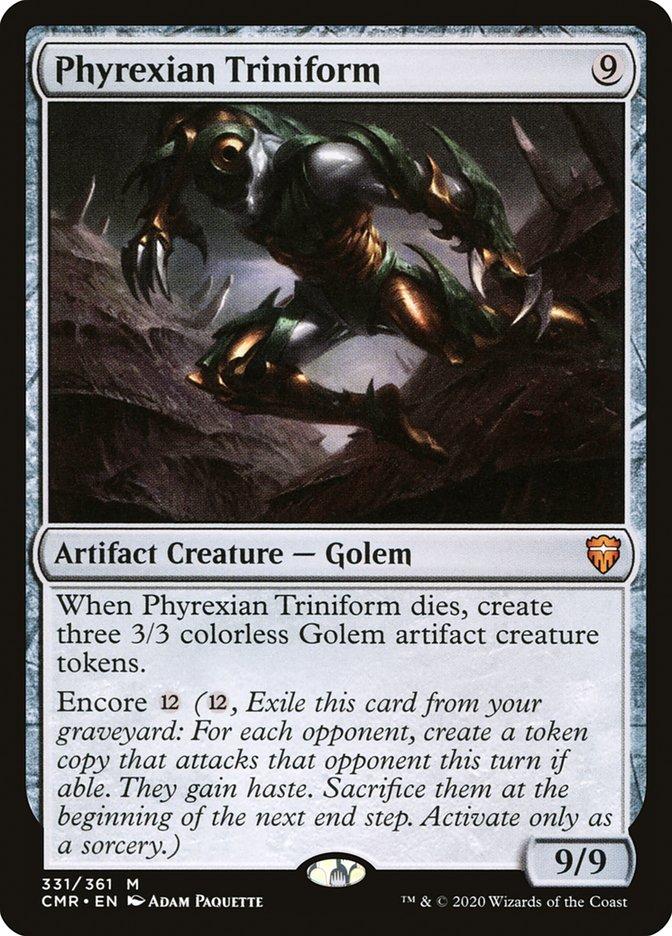 best-artifact-creatures-commander-phyrexian-triniform