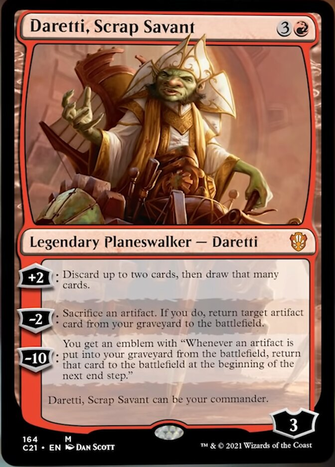 best-mono-red-commanders-daretti