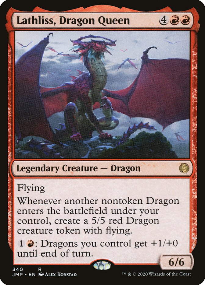 best-mono-red-commanders-lathliss