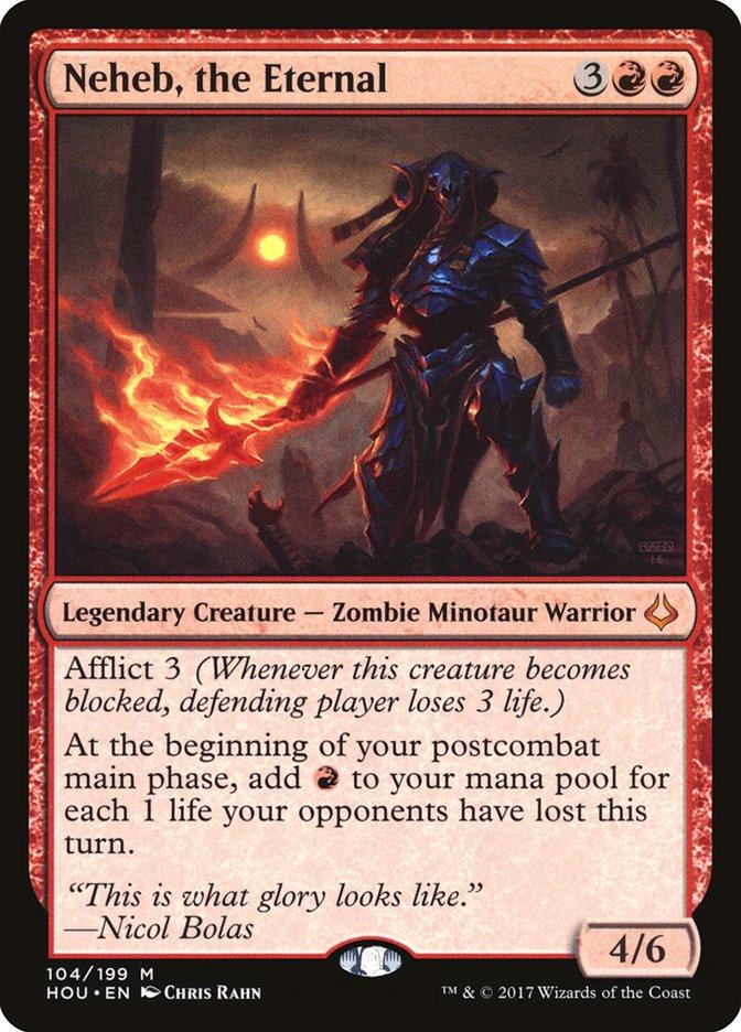 best-mono-red-commanders-neheb