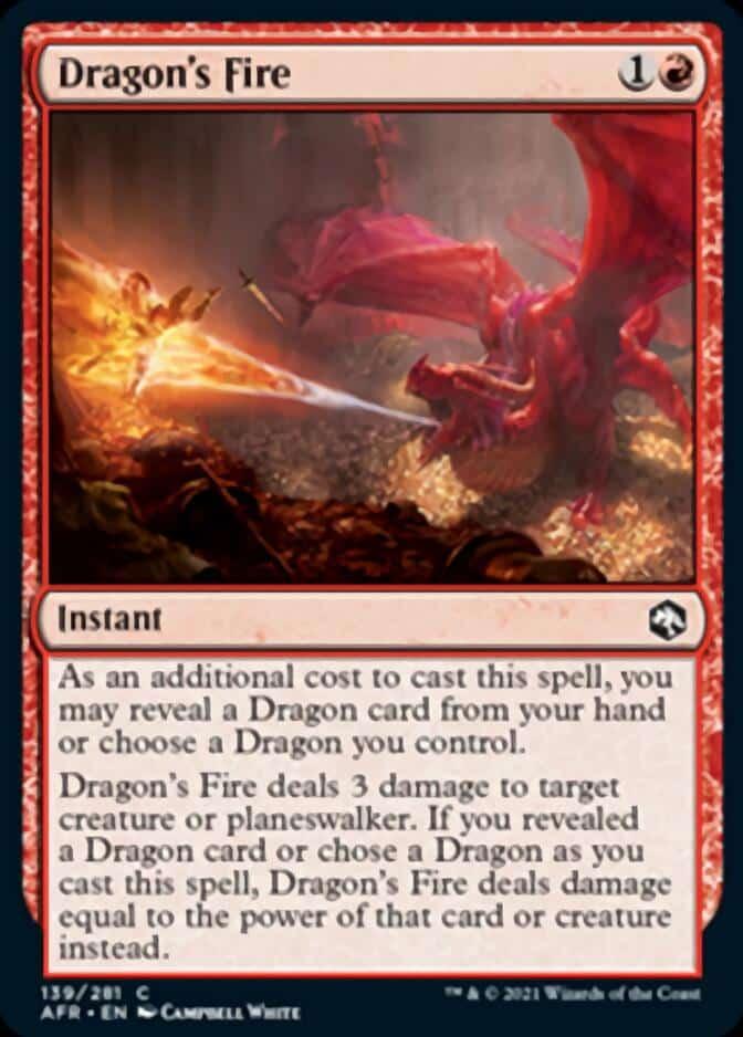 Dragon's Fire AFR 139