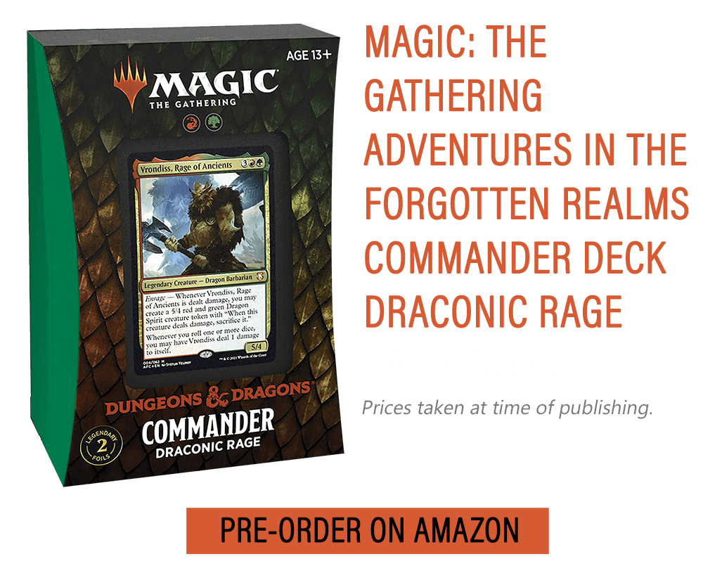 MTG D&D Forgotten Realms Commander Decks: Release Date, Pre-orders, Where to Buy & More