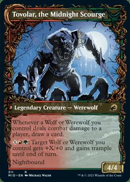 Tovolar, the Midnight Scourge Equinox Showcase Innistrad Midnight Hunt