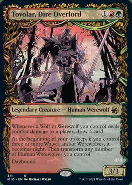 Tovolar, Dire Overlord Equinox Showcase Innistrad Midnight Hunt