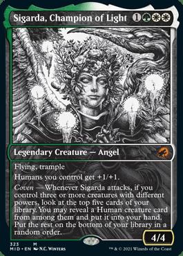 Sigarda, Champion of Light Eternal Night Showcase
