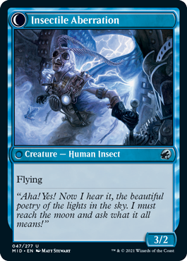 Insectile Aberration Innistrad Midnight Hunt